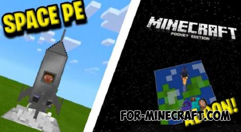 SpacePE Addon for Minecraft PE